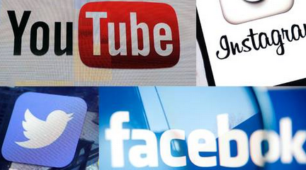 Facebook, Twitter, YouTube och Instagram?